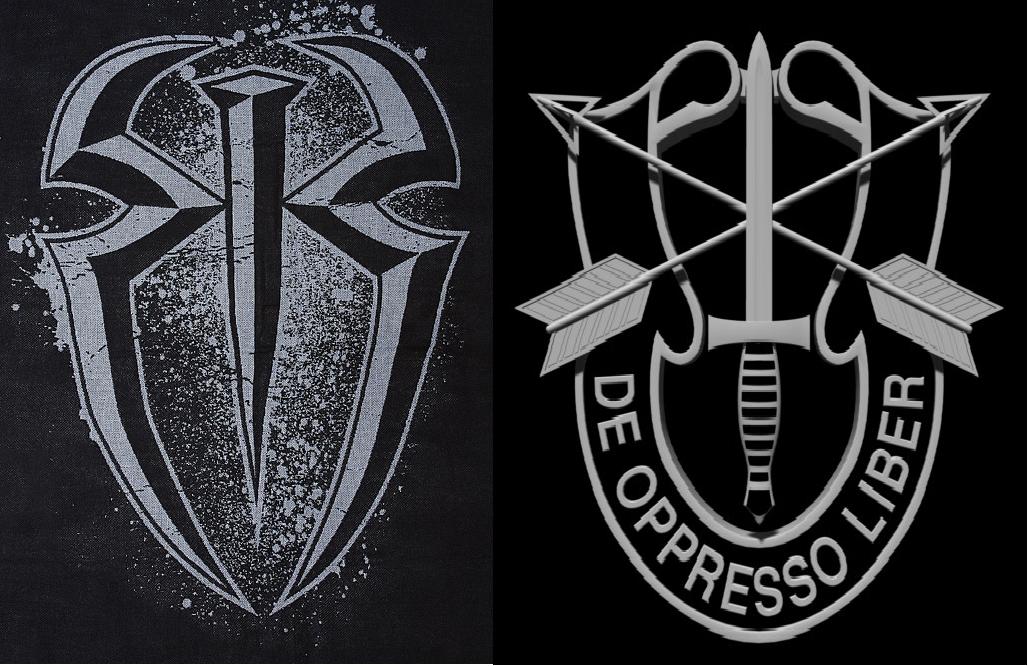 roman reigns logos