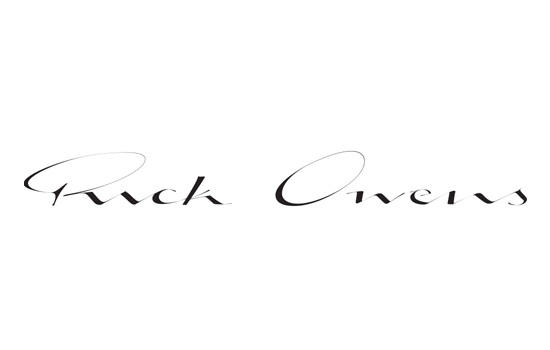 Rick owens Logos