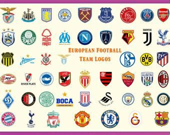 European Football Team Logos