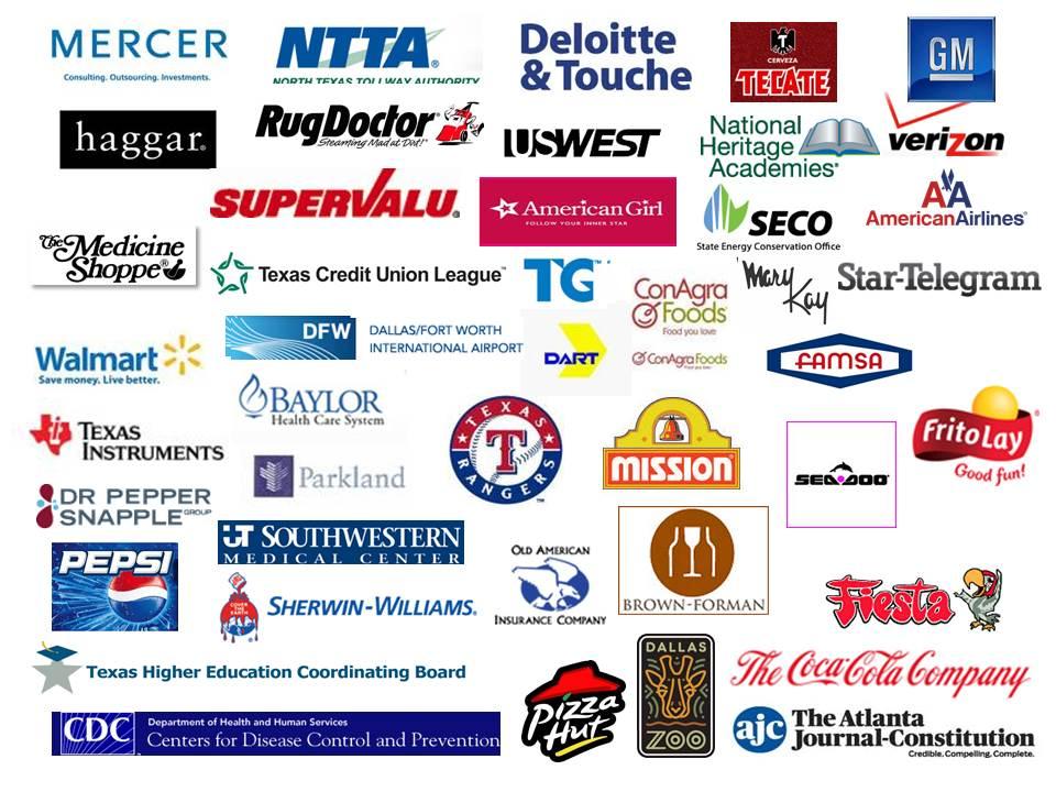 American financial services company Logos
