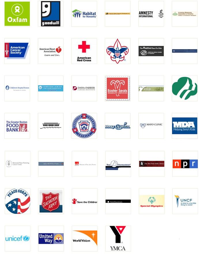 Top Non Profit Organizations >> Non Profit Organization Logos