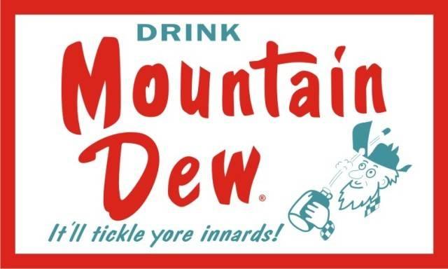 Old Mountain Dew Logos