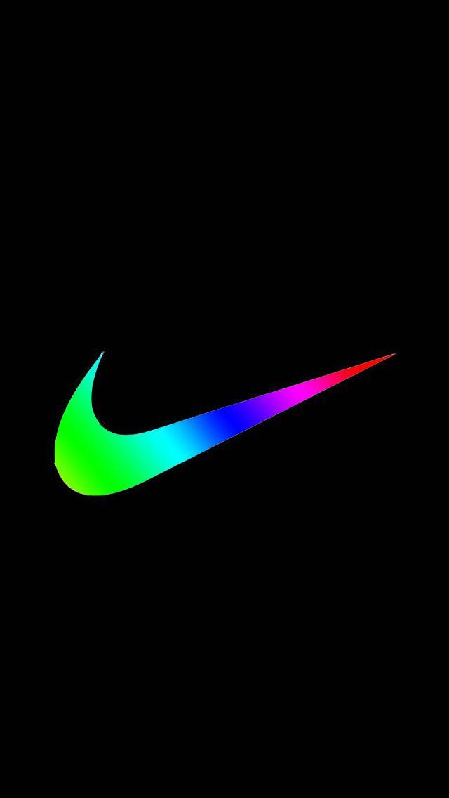 Colorful Nike Logos