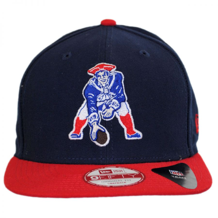 New Era New England Patriots NFL Historic Logo 9Fifty ... villagehatshop.com b91011bb10c
