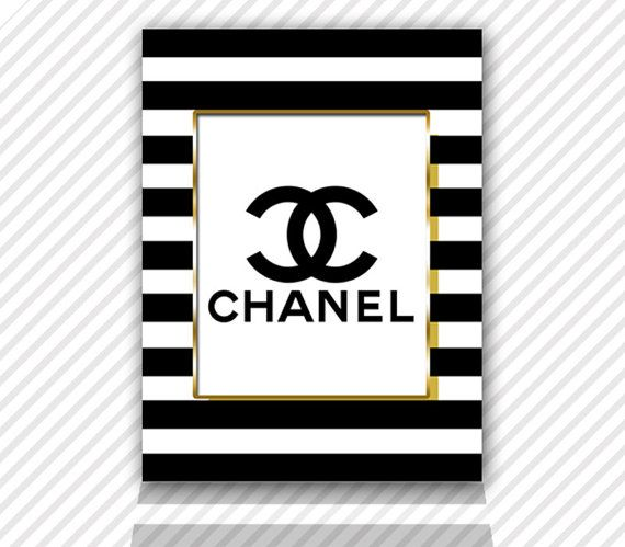 It is a graphic of Printable Chanel Logo regarding home screen