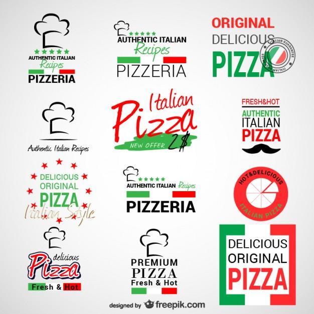 Italian Restaurant Logo With Flag: Italian Flag Restaurant Logos