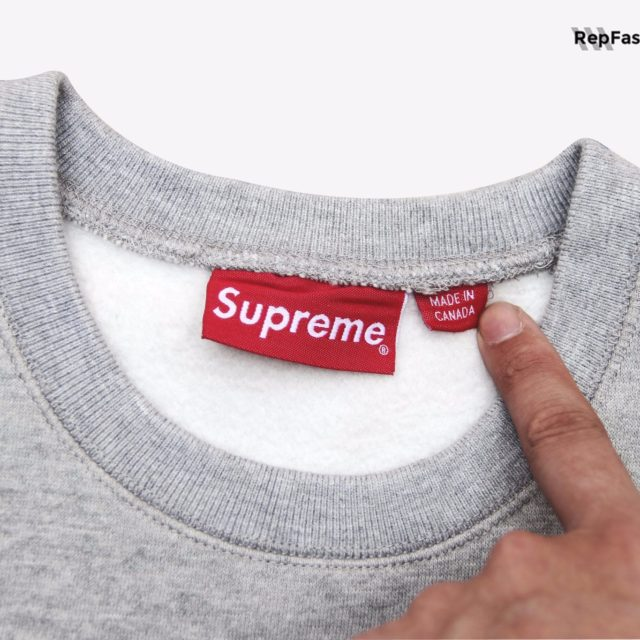 Best Replica Supreme Box Logo Crewneck High Quality Fake