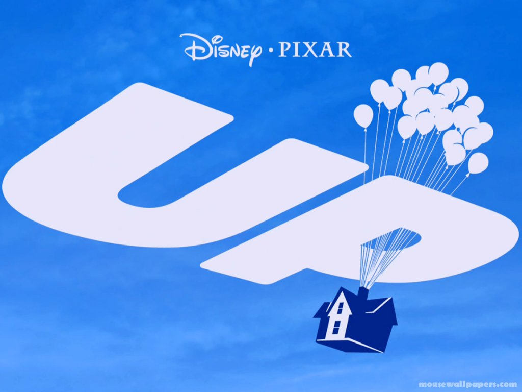 Disney Pixar Up Logos