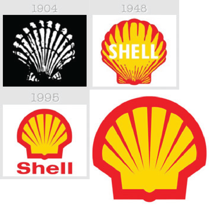 Shell Gas Station Logos