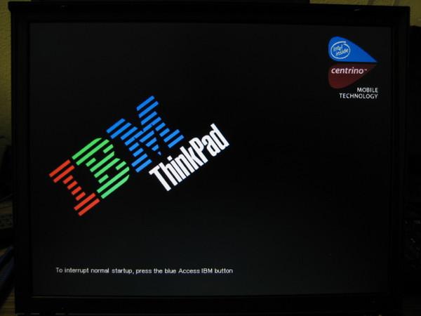 Lenovo stuck on Logos