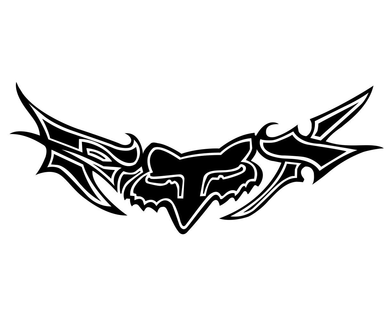 fox head logos rh logolynx com fox racing logo images fox racing logo stl 3d print