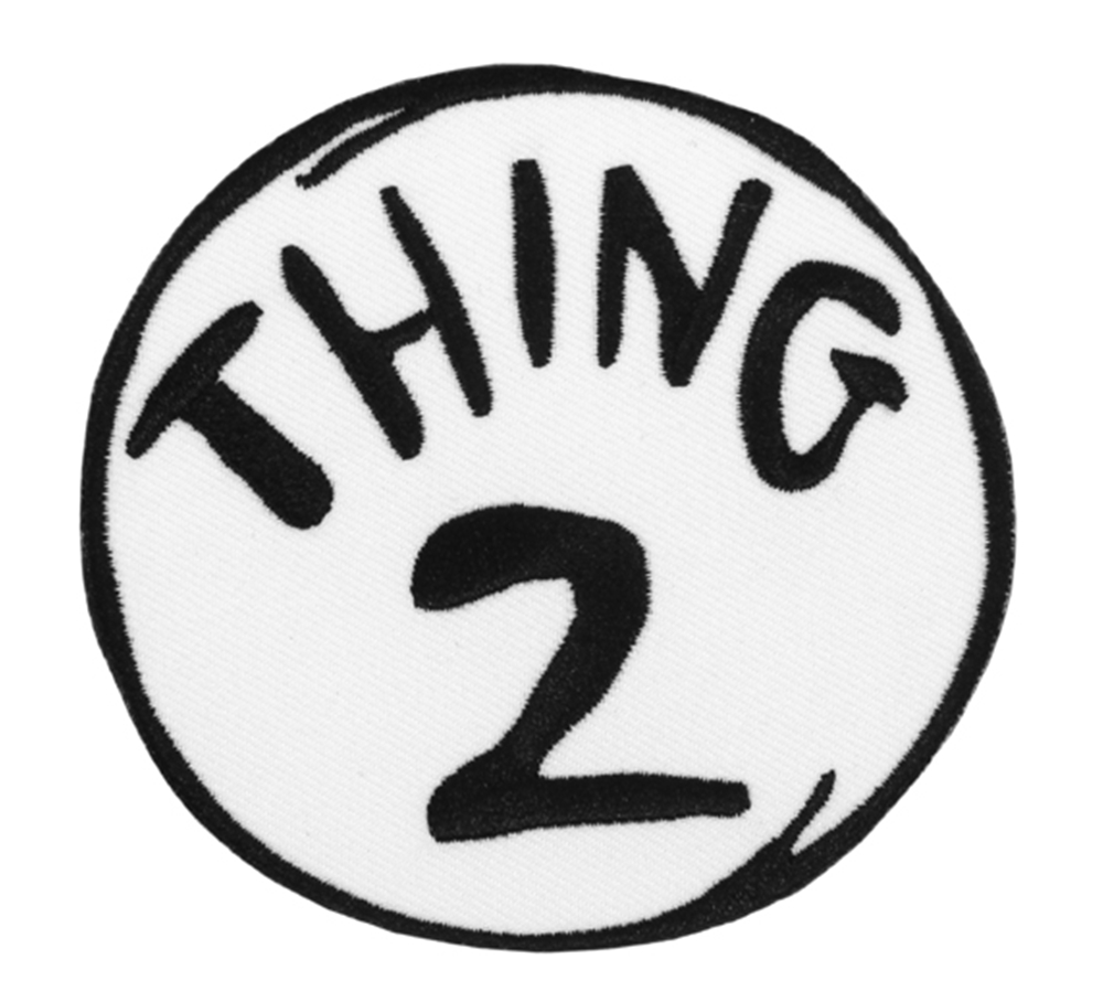 photograph relating to Thing 2 Logo Printable named Matter just one printable Emblems