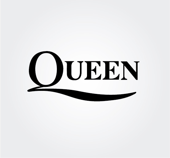 Rock group queen Logos