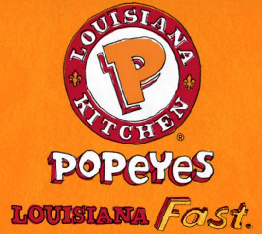 Popeyes fried chicken logo - photo#29