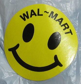 Walmart Smiley Face Rollback