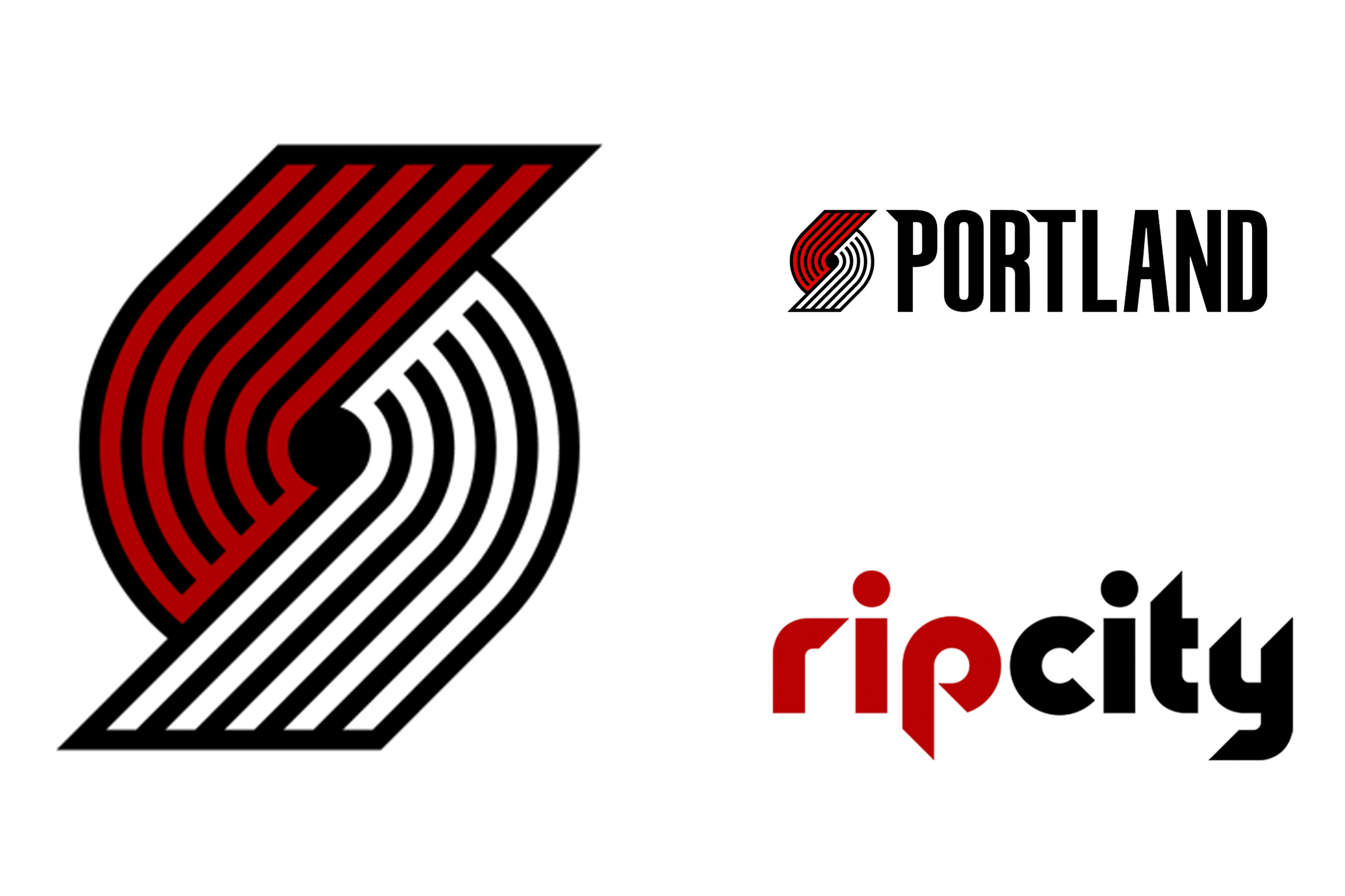 New Trail Blazers Logos