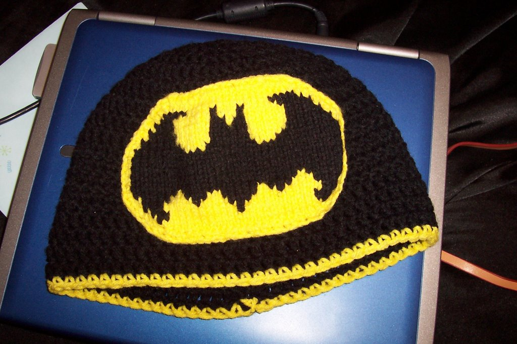 Crochet Batman Logos