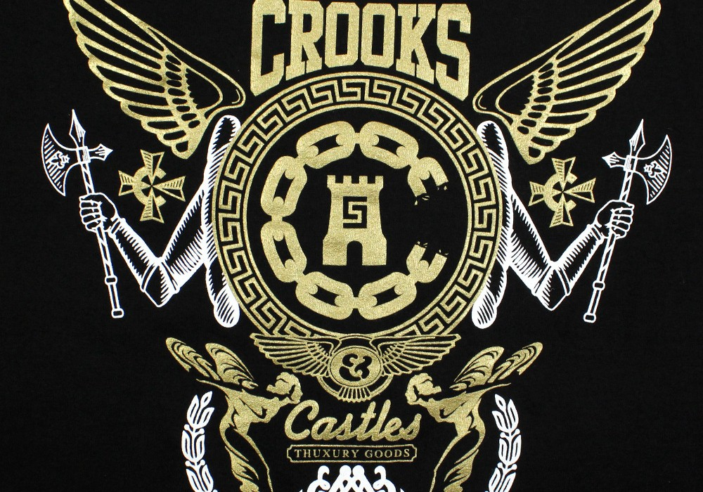 Crooks and castles Logos