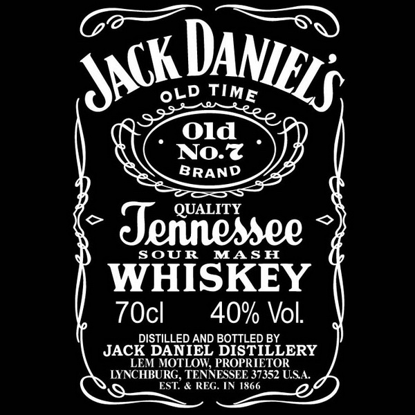 Jack Daniels Font And Label