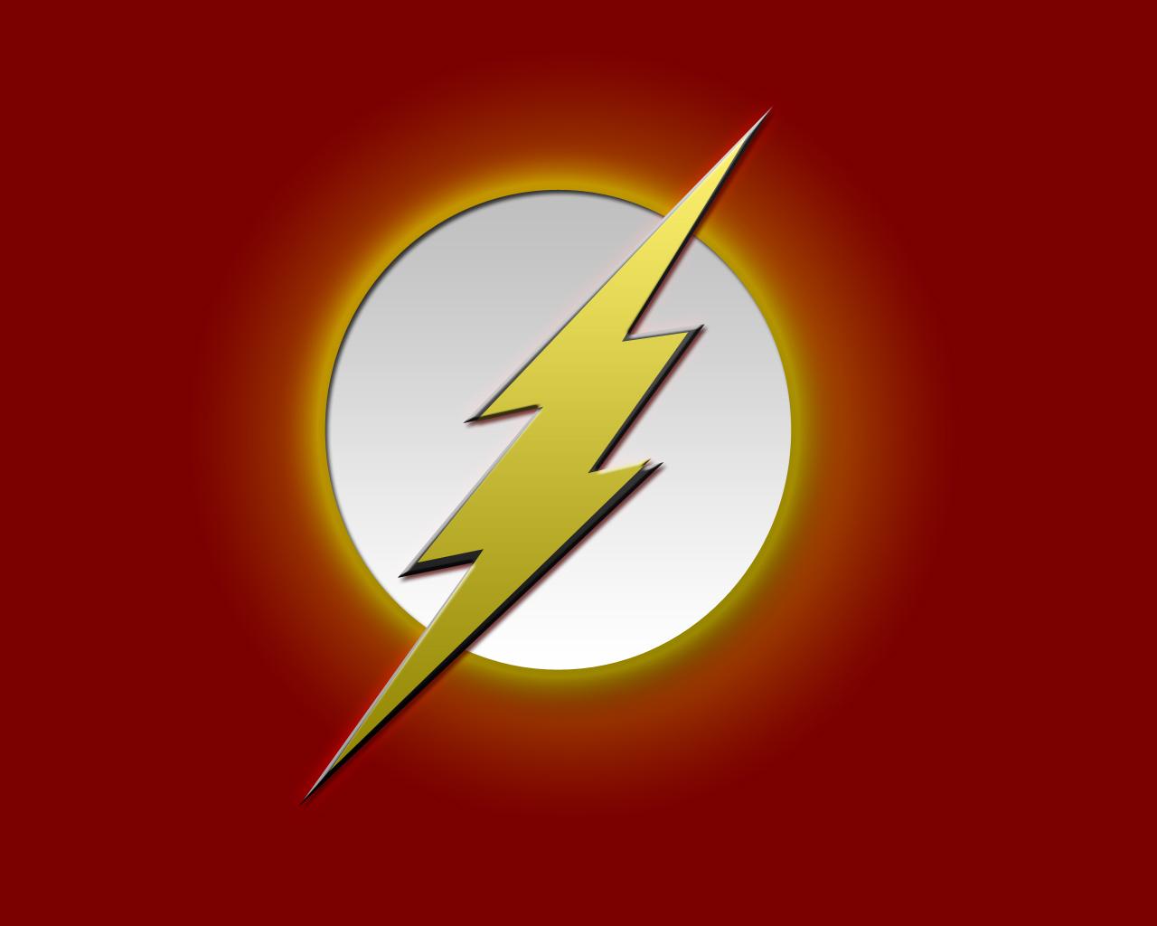 Flash Superhero Logos