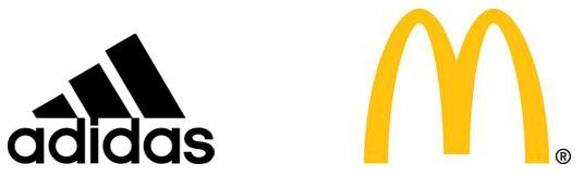 Simple Brand Logos