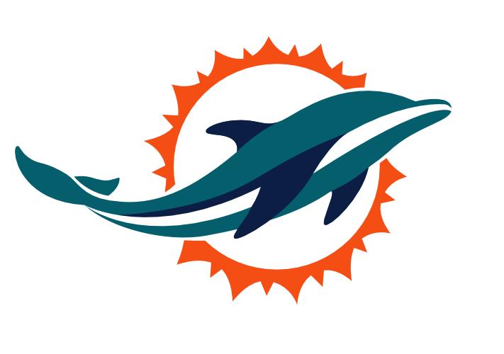 miami dolphins football logos rh logolynx com
