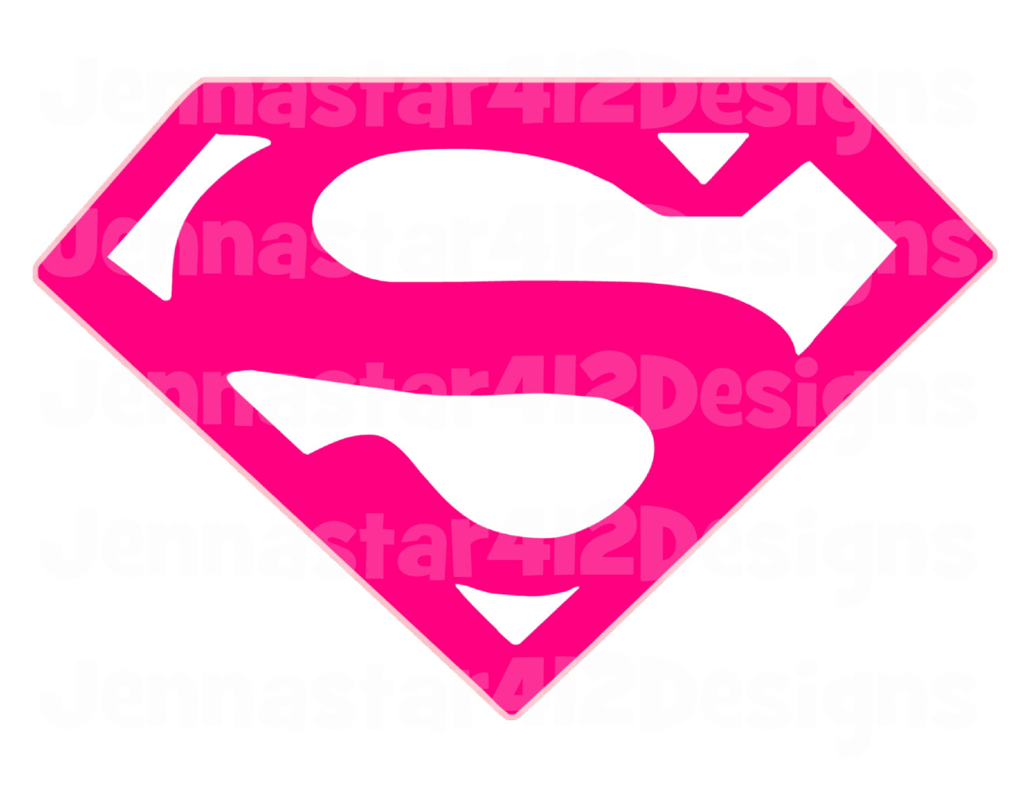 Supergirl Logo Template