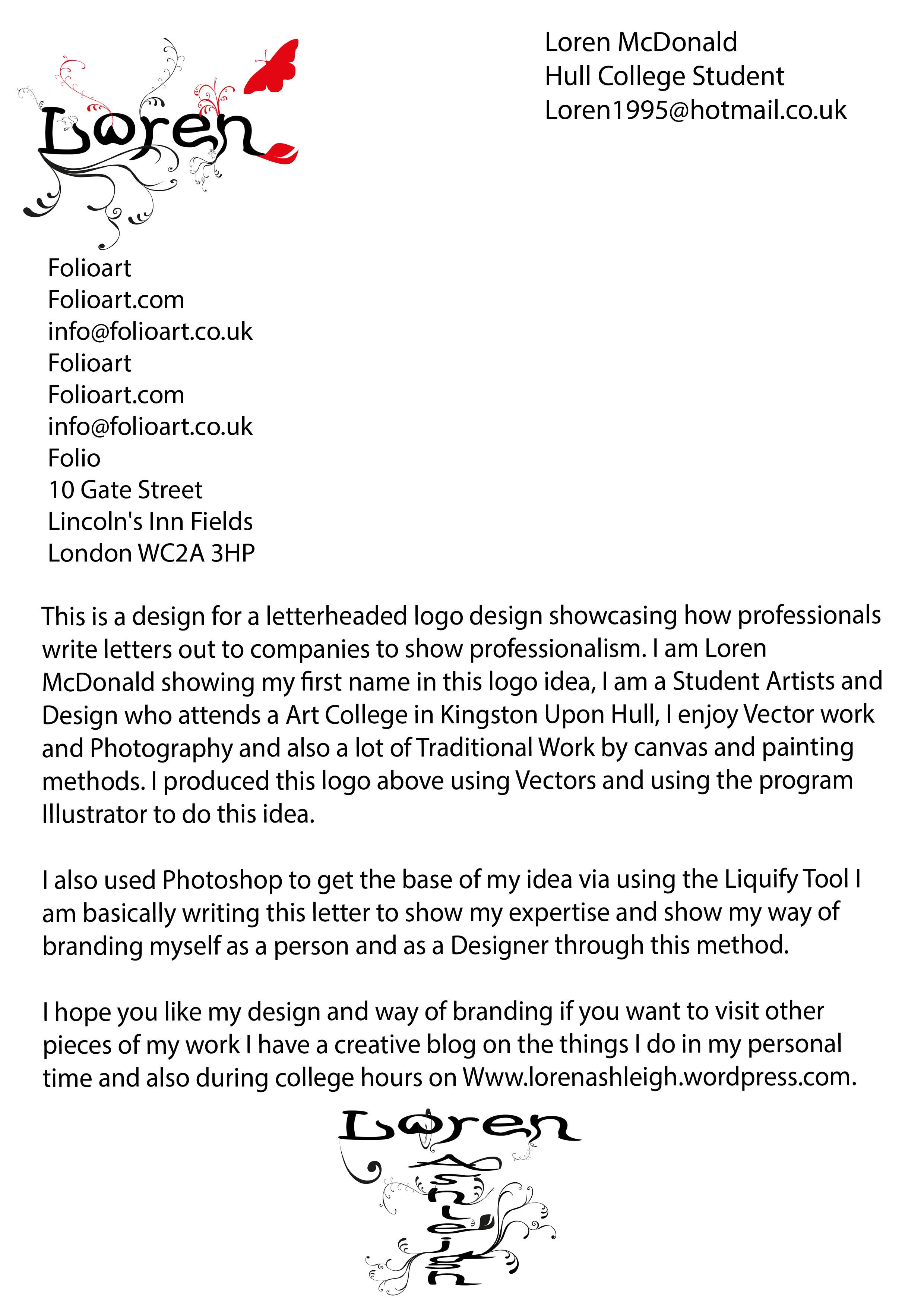Business letter format with logos spiritdancerdesigns Images