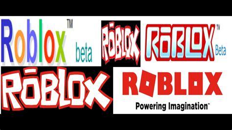 Youtube Roblox Logo 2020 Evolution Of Roblox Logos