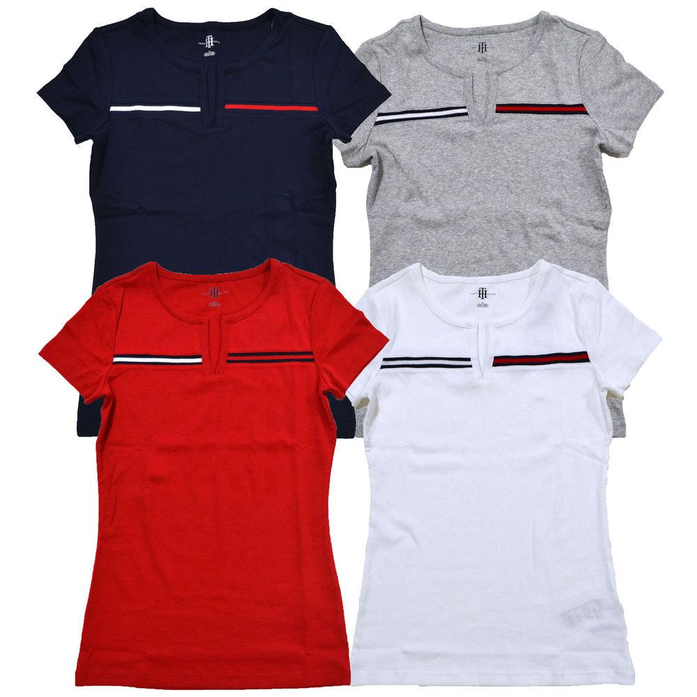 9edb9432d Tommy hilfiger shirts womens Logos