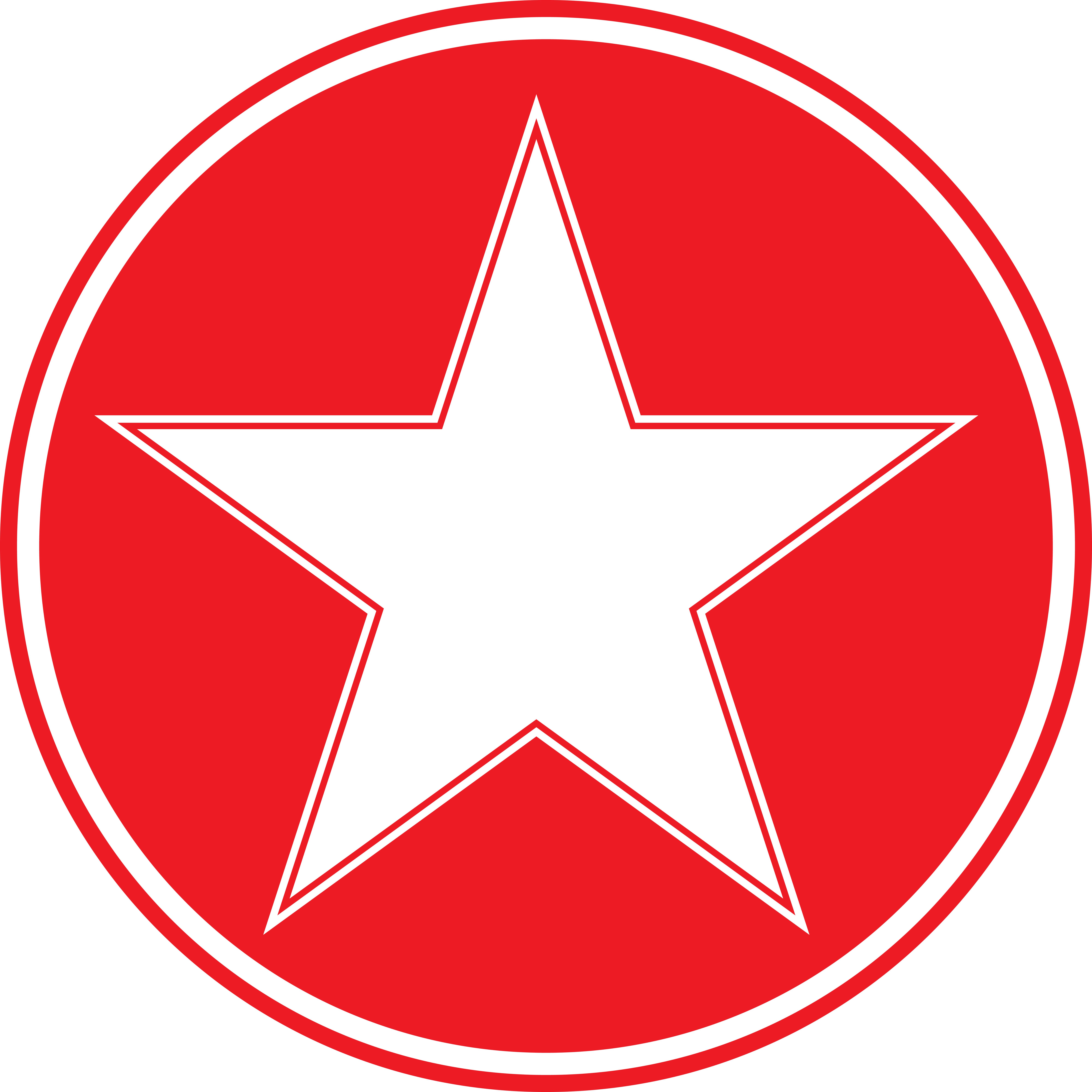 star in circle logos