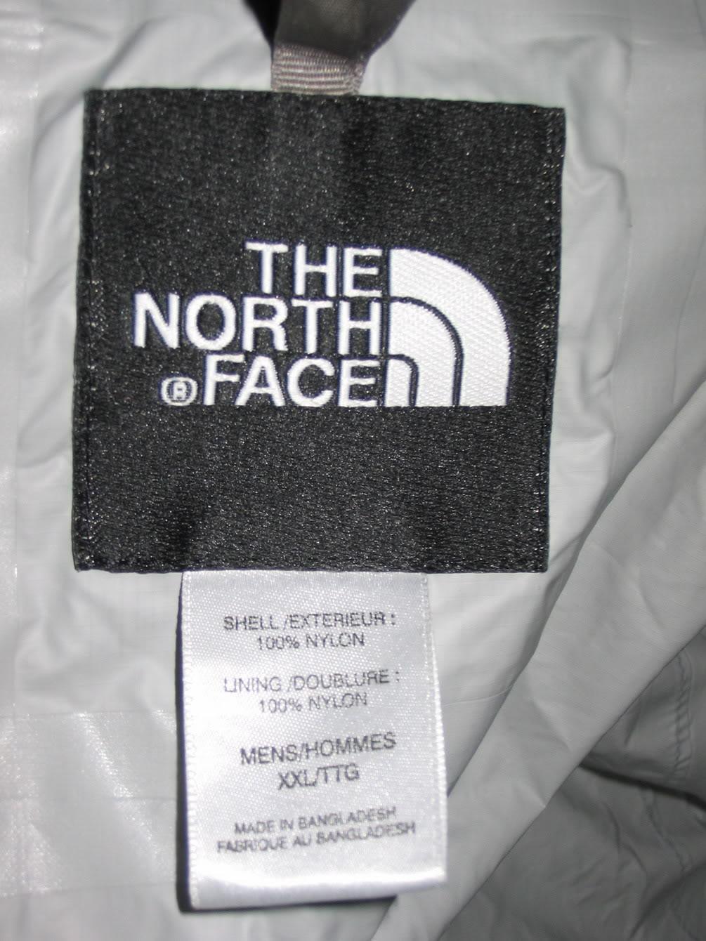 Fake north face Logos 03cf32dae