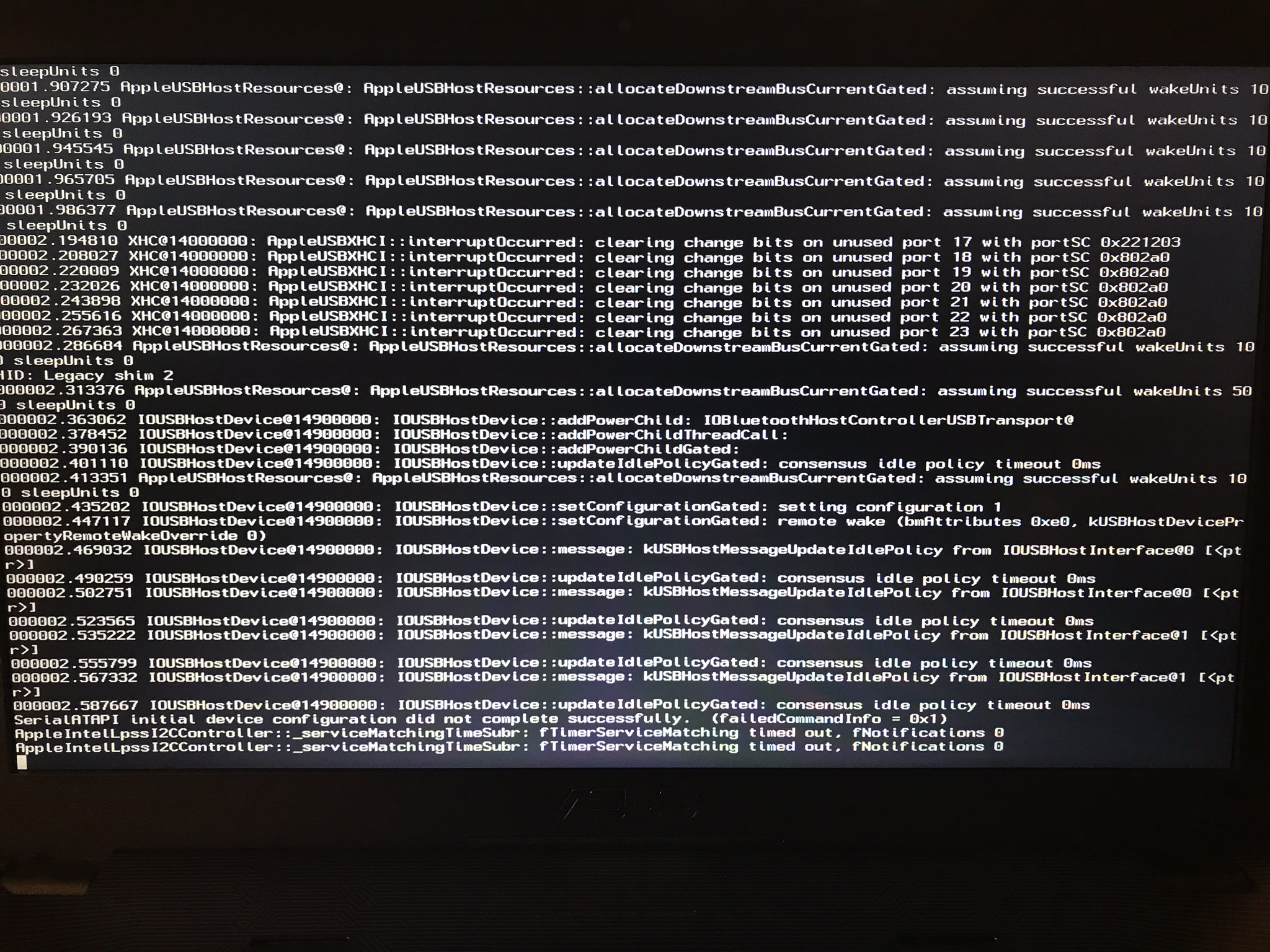 Black screen after windows Logos