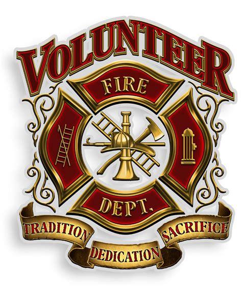 Volunteer firefighter Logos