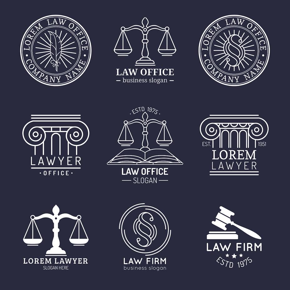 Lawyer Logos