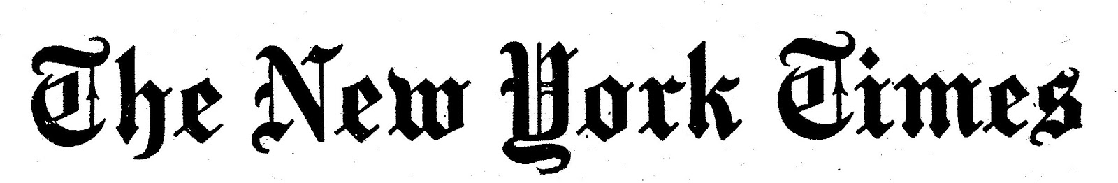 Image result for new york times logo