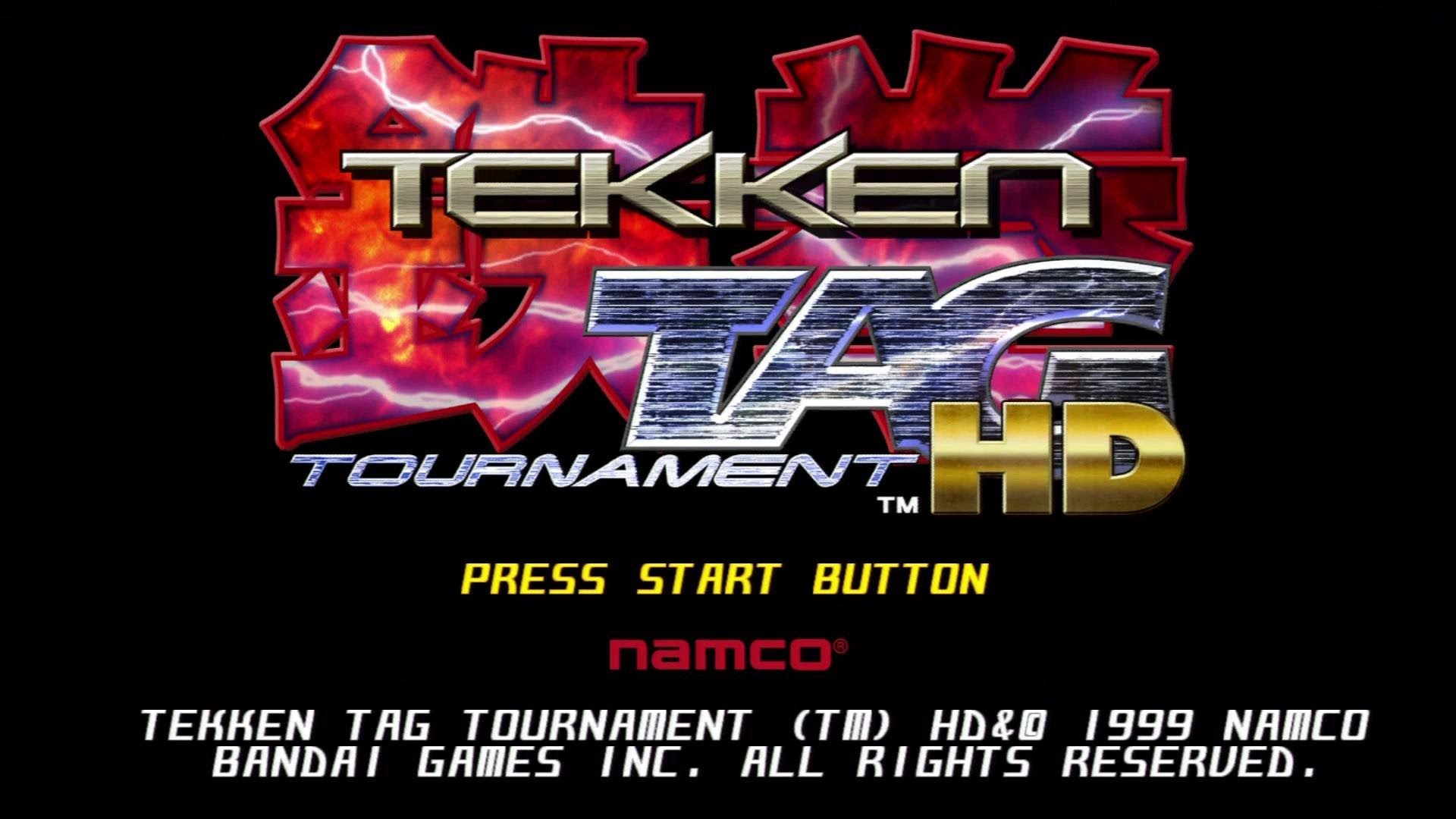 Tekken tag tournament 2 Logos