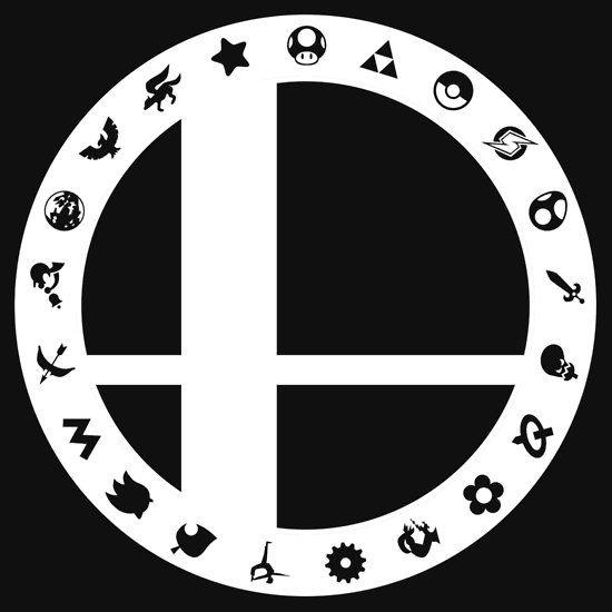 Super smash bros Logos