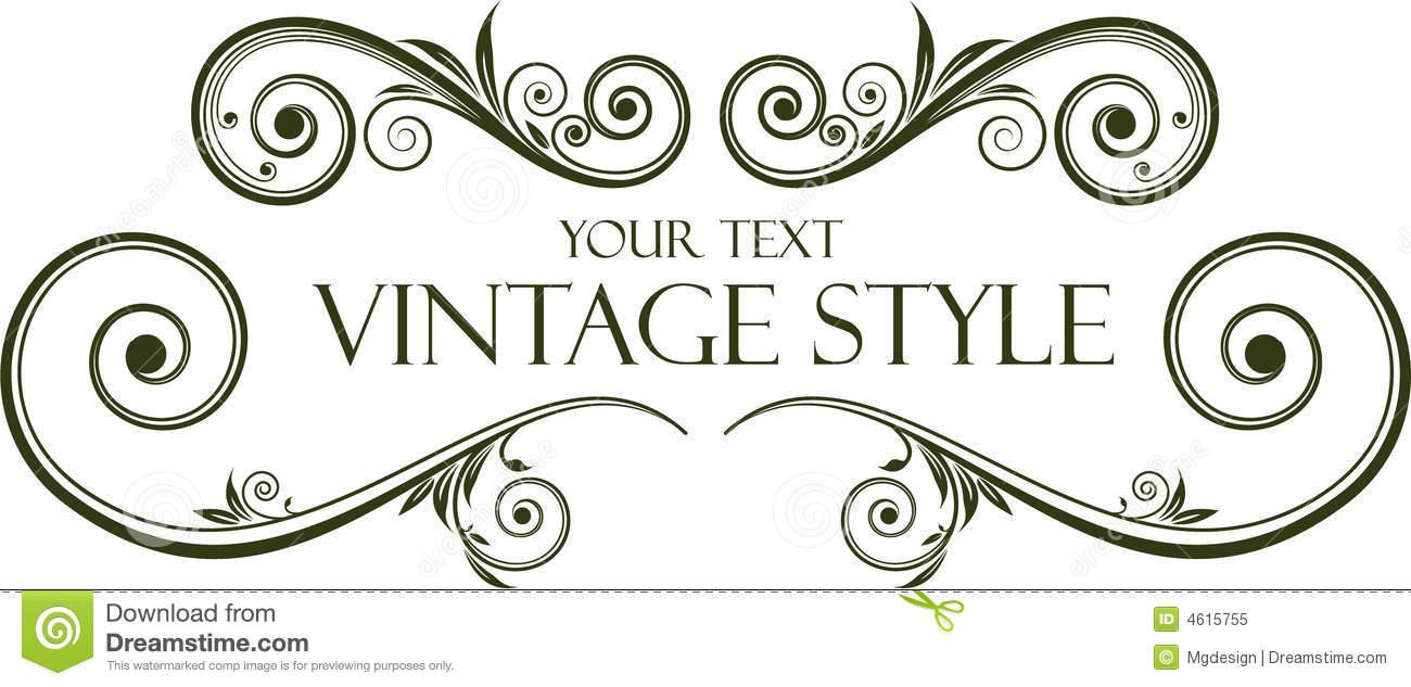 Vintage frame Logos