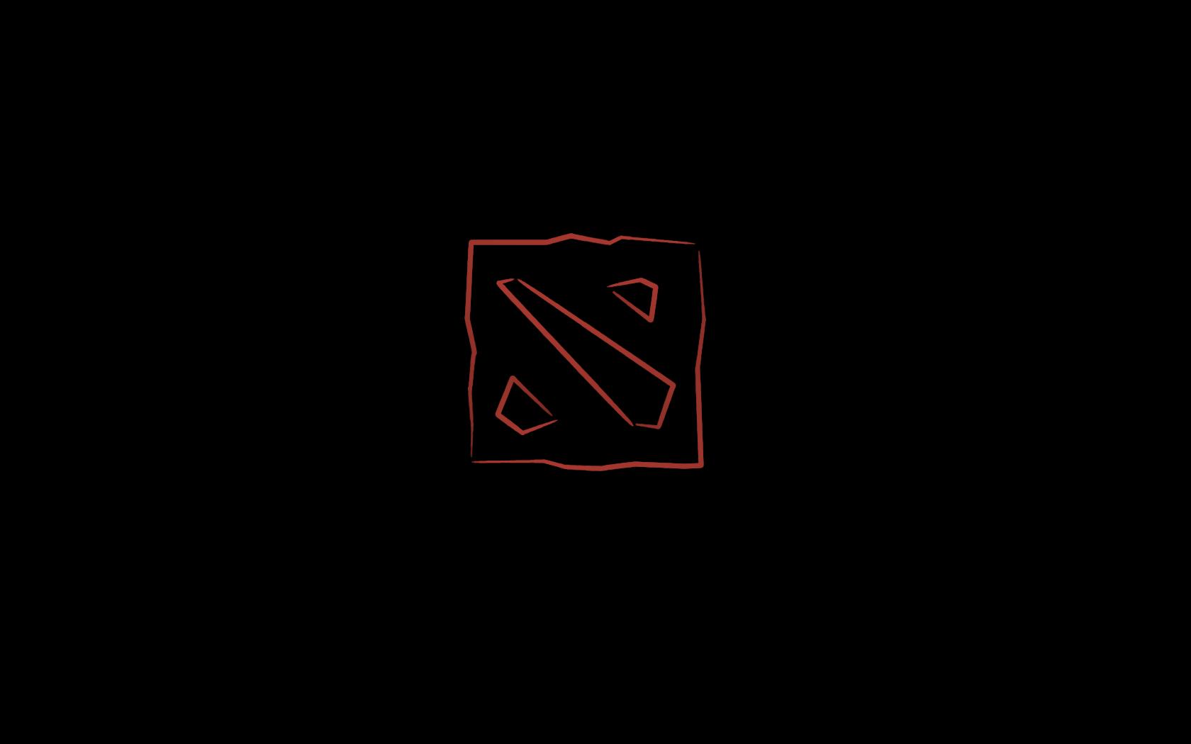 Grey Wallpaper Dota 2 Logo Wallpaper Background Hd