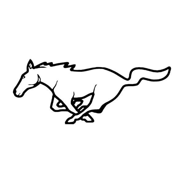 Mustang Horse Logos