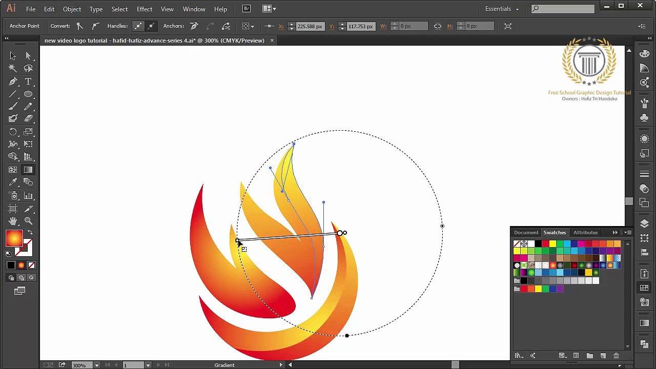 creating a logo in illustrator