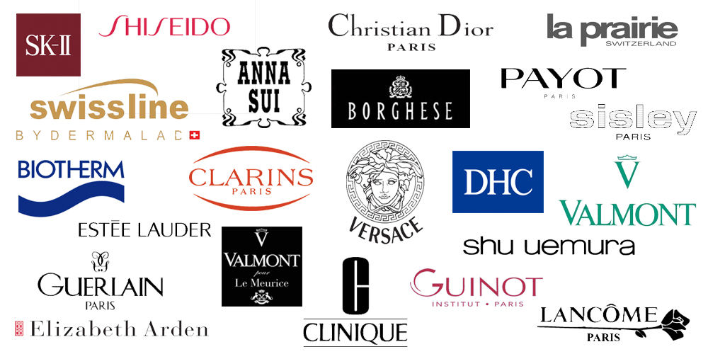 Leading makeup brand logo o