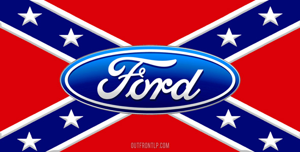 Rebel Flag Ford Logos
