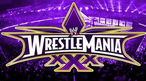 Wwe wrestlemania 30 Logos