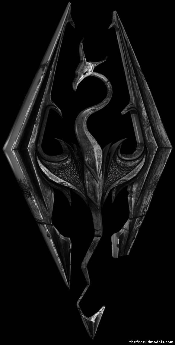 Skyrim Logos