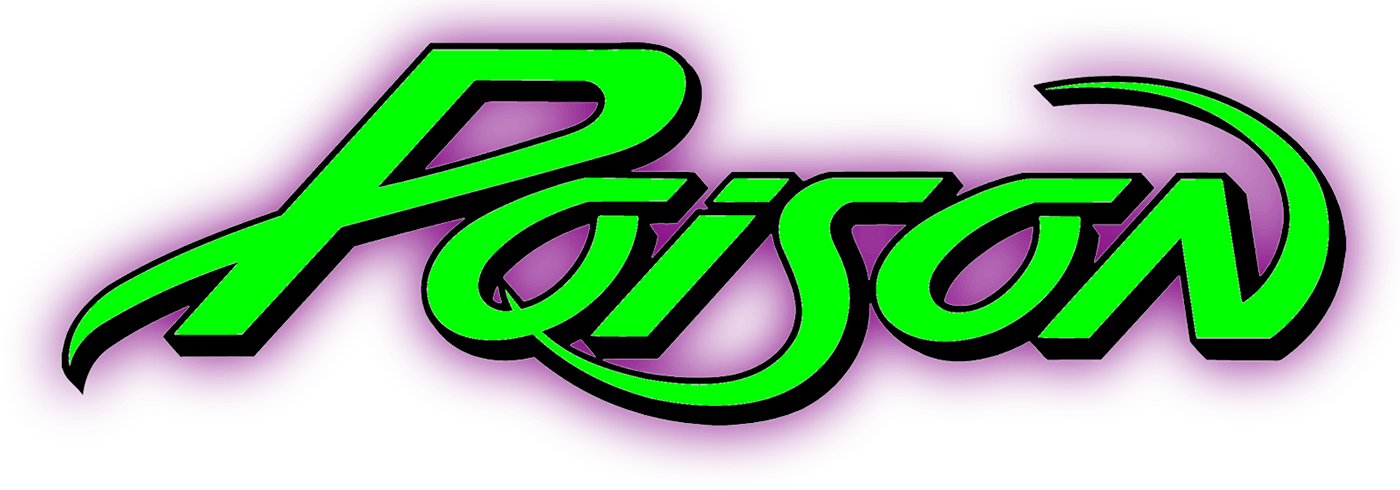 poison band logos rh logolynx com poison lookup poison logo font