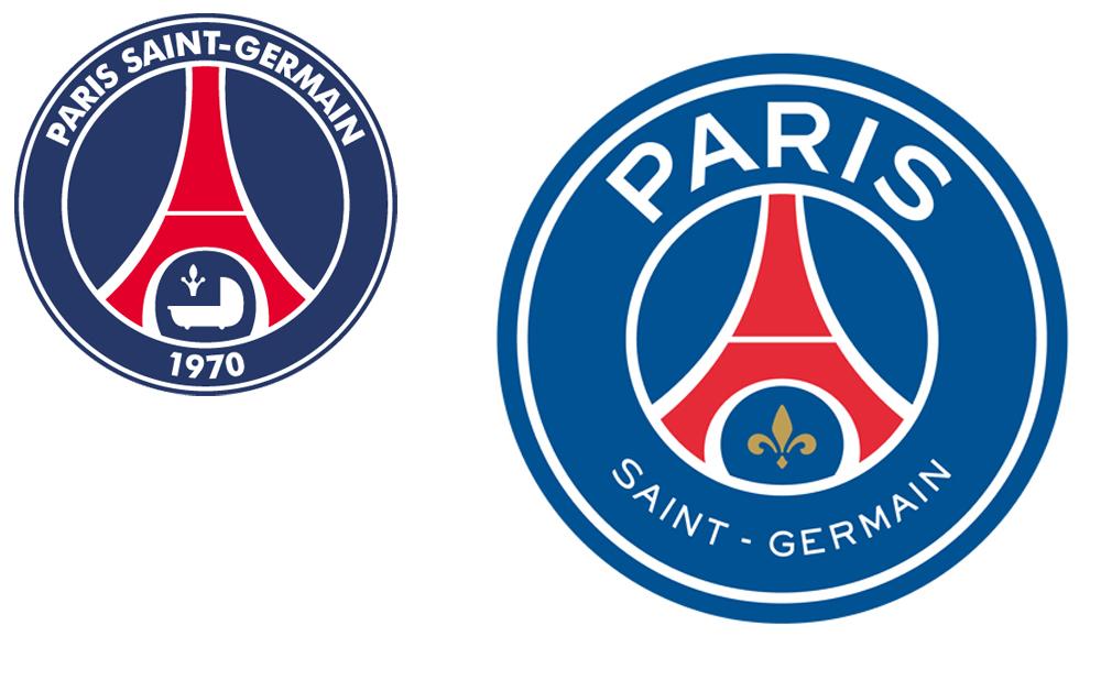 paris saint germain logos