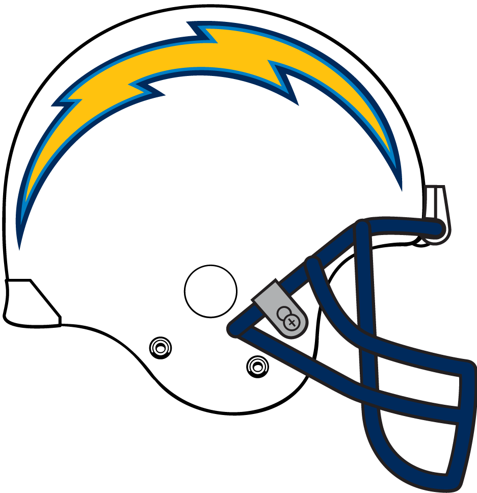 San Diego Chargers Bolt Logo: Chargers Football Logos