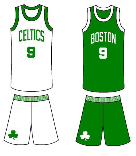 Boston Celtics Jersey Logos